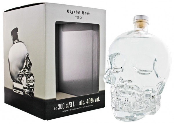 Crystal Head Vodka 3 Liter 40%