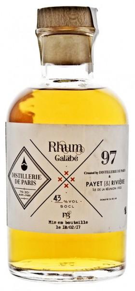 Distillerie de Paris Galabe Rhum 0,5 Liter 43%