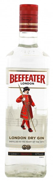 Beefeater Dry Gin 1 Liter 47%