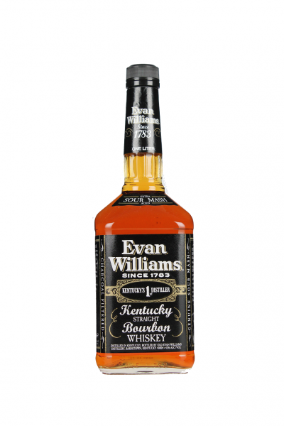 Evan Williams Straight Bourbon Whiskey 1 Liter 43%