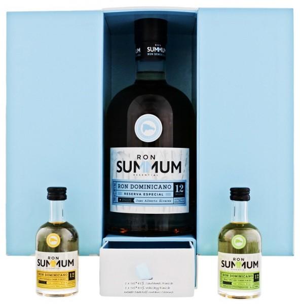 Summum 12YO Reserva Especial Tastingset 0,8 Liter 38,5%