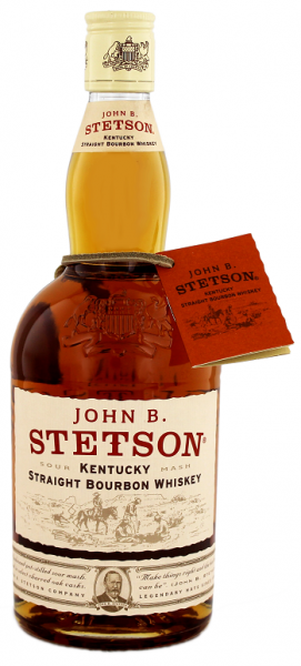John B. Stetson Kentucky Straight Bourbon 0,7 Liter