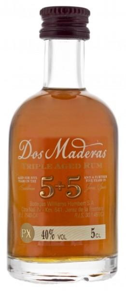 Dos Maderas PX 5+5YO Rum 0,05 L
