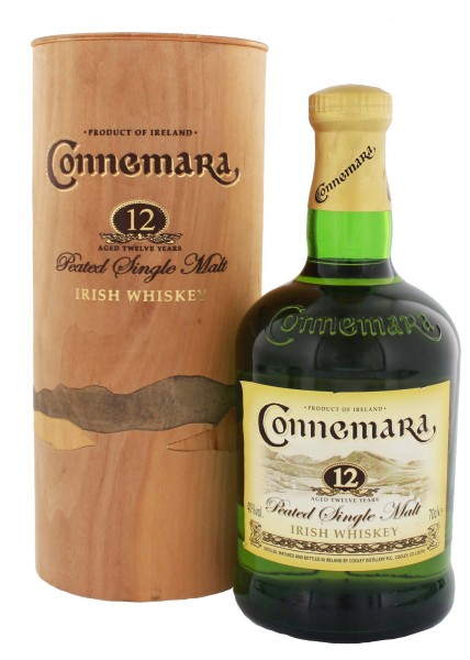 Connemara Peated Single Malt 12YO 0,7L
