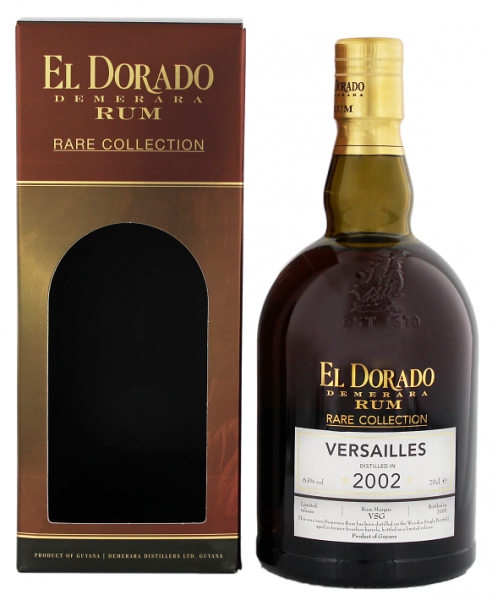 El Dorado Versailles 2002/2015 Rare Collection 0,7 Liter