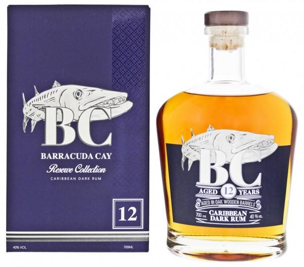 BC Barracuda Cay 12YO Dark Rum 0,7 Liter 40%