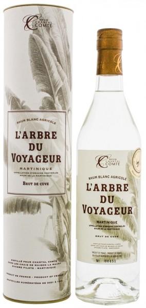 Chantal Comte L´Arbre du Voyageur Brut de Cuve Blanc Agricole Rhum 0,7 Liter 60,2%