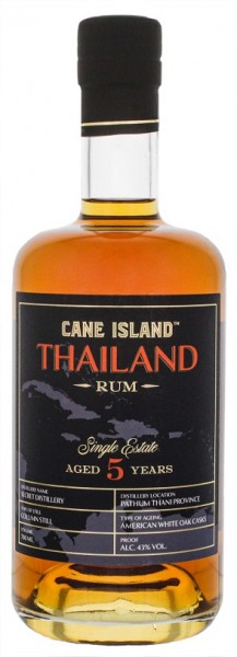 Cane Island Thailand 5YO Single Estate Rum 0,7 Liter 40%