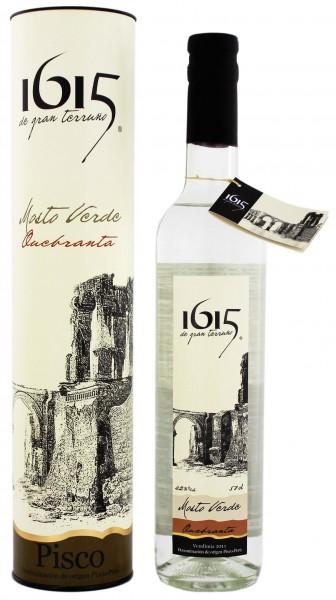 1615 Pisco Mosto Verde Quebranta 0,5 Liter 42%