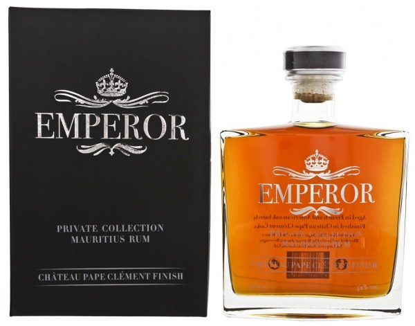Emperor Private Collection Chateau Pape Clement Finish Rum 0,7 Liter 42%