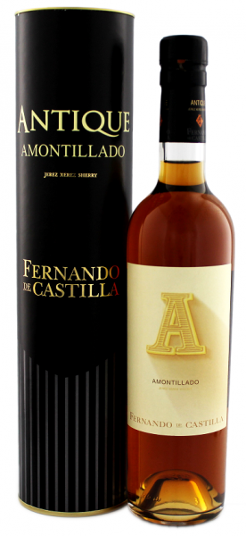 Fernando de Castilla Sherry Antique Amontillado 0,5 Liter