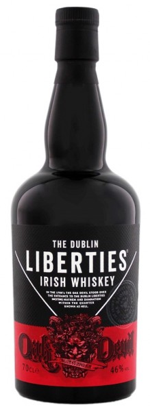 The Dublin Liberties Oak Devil Irish Whiskey 0,7 Liter 46%