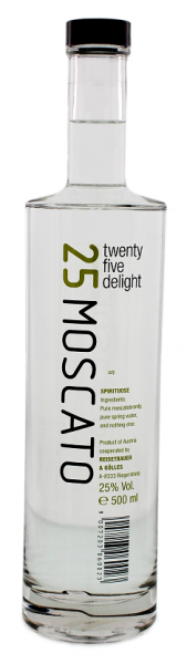Twenty Five Delight Moscato 0,5 Liter 25%