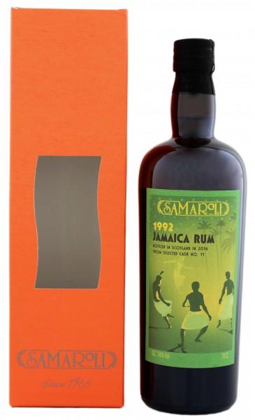 Samaroli Jamaica Rum 1992/2016 54% 0,7 Liter