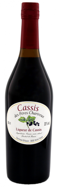 Chartreuse Cassis des Peres 0,5 Liter 20%