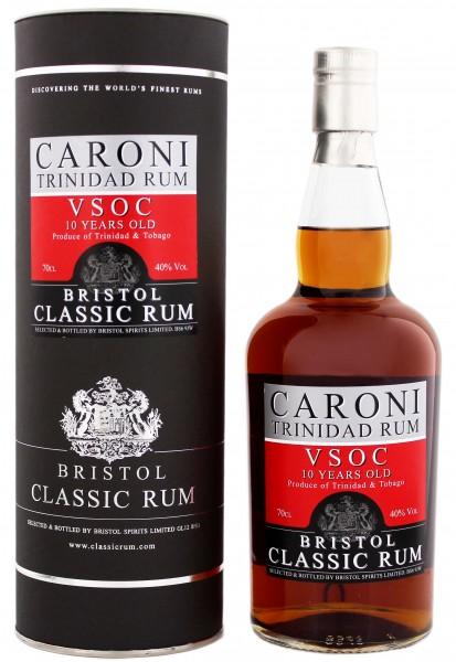 Bristol Caroni VSOC 10YO 0,7 Liter 40%
