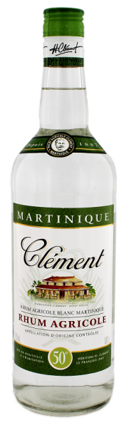 Clément Blanc Agricole Rhum 1 Liter 50%