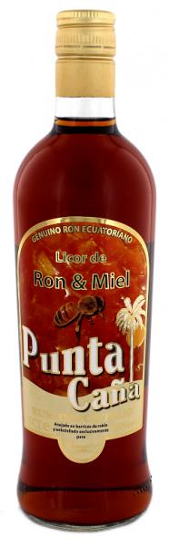 Punta Cana Ron y Miel 0,7 Liter