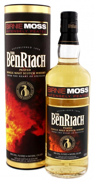 BenRiach Birnie Moss Peated Malt Whisky 0,7 Liter 48%