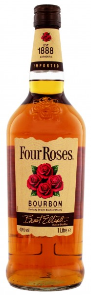 Four Roses Bourbon Whiskey 1 Liter 40%