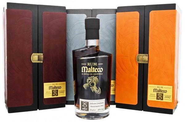 Malteco 25YO Anniversario 1992 Rum 0,7 Liter 40%