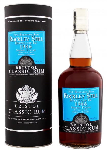 Bristol Rockley Still 1986 Sherry Finish 0,7 Liter