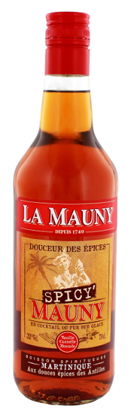 La Mauny Spicy Épicé 0,7 Liter