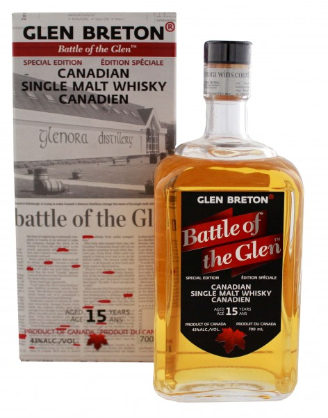 Glen Breton Battle of the Glens 15YO 0,7L