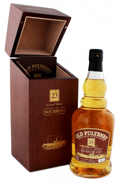 Old Pulteney 23YO Bourbon Cask 0,7L