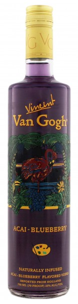 Van Gogh Vodka Acai Blueberry 0,75 Liter