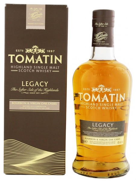 Tomatin Legacy Single Malt Scotch Whisky 0,7 Liter 43%