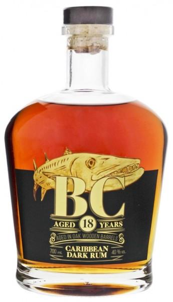 BC 18YO Dark Rum 0,7 Liter 40%