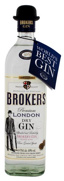 Broker's Dry Gin 0,7 Lite