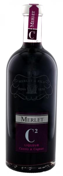 Merlet C2 Liqueur Cassis & Cognac 0,7 Liter 33%