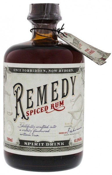 Remedy Spiced 0,7 Liter 41,5% Vol.