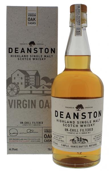 Deanston Virgin Oak Malt Whisky 0,7 Liter