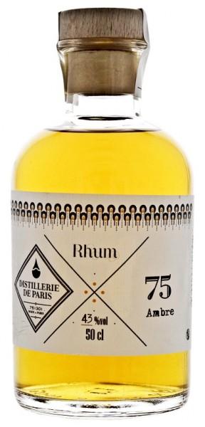 Distillerie de Paris Ambre Rhum 0,5 Liter 43%