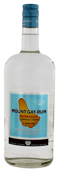 Mount Gay Eclipse Silver Rum 1 Liter 40%