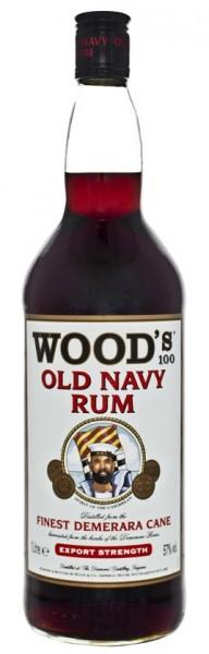 Wood´s Old Navy Rum 1 Liter 57%