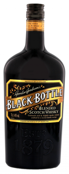Black Bottle Blended Scotch Whisky 0,7 Liter 40%