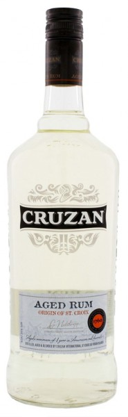 Cruzan Aged Light Rum 1 Liter 40%