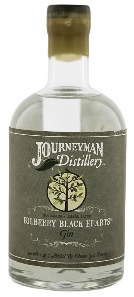 Journeyman Bilberry Black Hearts White Gin 0,5 Liter 45%