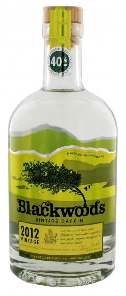 Blackwood's Vintage Dry Gin - Shetland Islands 0,7L
