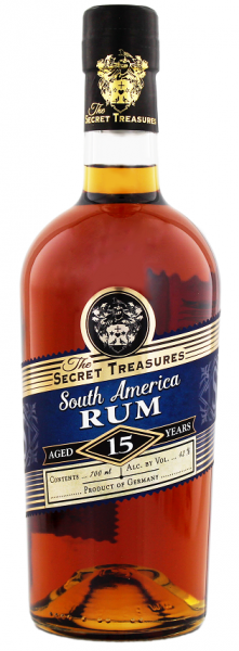 The Secret Treasures South America 15YO 0,7 Liter