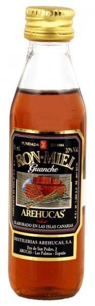 Arehucas Guanche Honey Likör 0,05 Liter 20%