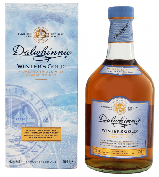 Dalwhinnie Winter's Gold Single Malt Scotch Whisky 0,7 Liter