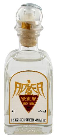 Adler Berlin Dry Gin Deutschland 0,04 Liter 42%