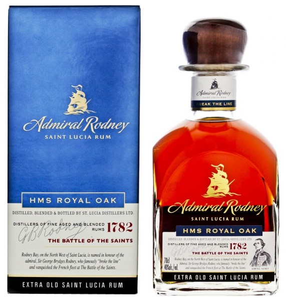 Admiral Rodney HMS Royal Oak Extra Old Rum 0,7 Liter 40%