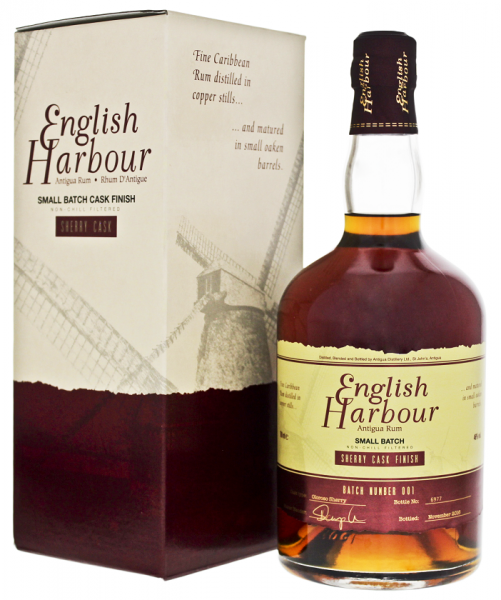 English Harbour Sherry Cask Finish Rum 0,7 Liter 46%