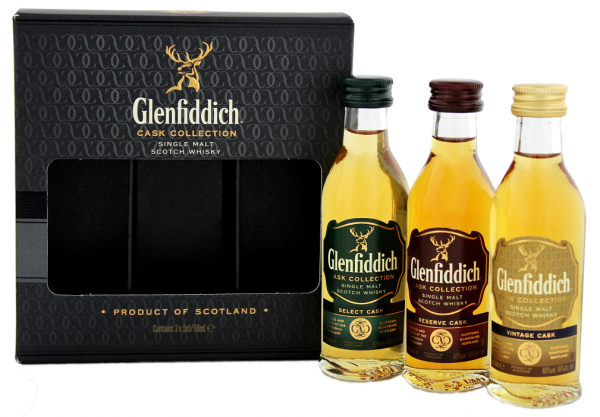 Glenfiddich Cask Collection 3 x